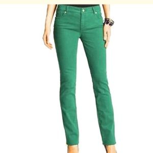 Chico's green so slimming pant